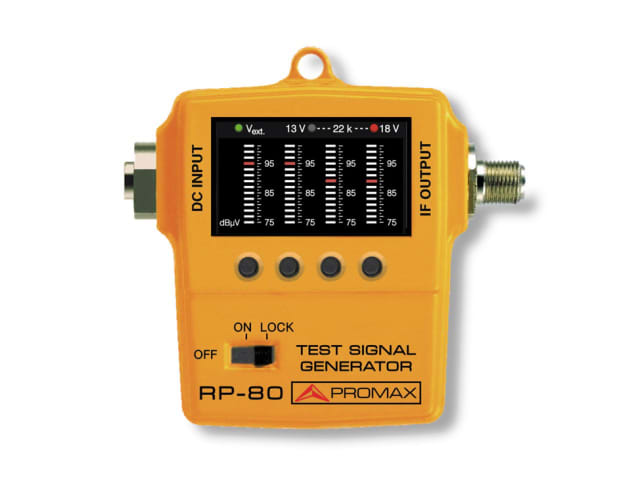 RP-080 test signal generator. (Image courtesy of PROMAX.)