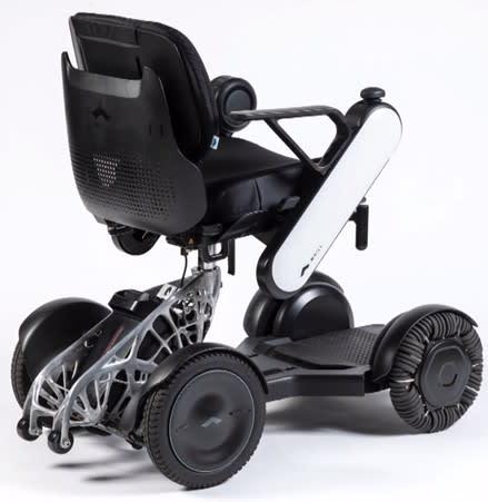 El diseño final de la silla de ruedas Whill.  (Imagen cortesía de Whill.)