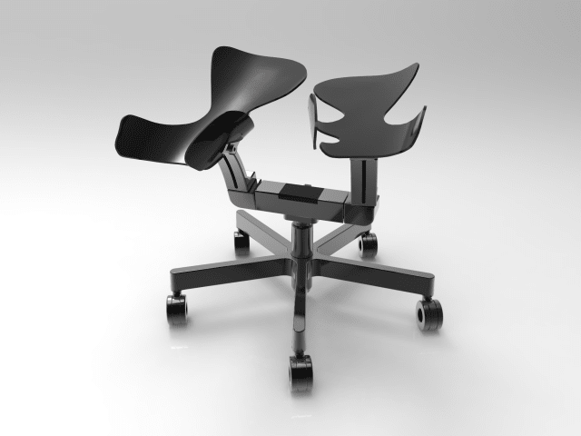 The Limbic Chair uses movement and touch to make you feel weightless and happy. (Image courtesy of Limbic Life.)