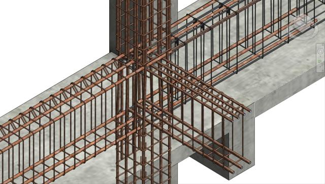 the program facilitates the generation of 3D rebar for Revit BIM models