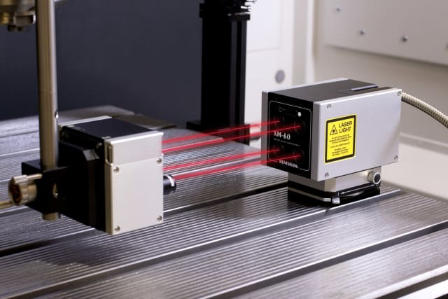 Laser interferometers are commonly used to measure distances, refractive index changes and surface properties. They are often the most accurate instruments available and they can also provide great convenience. (Image courtesy of Renishaw.)