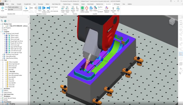 PowerMill is now bundled with Fusion 360. (Picture courtesy of Autodesk.)