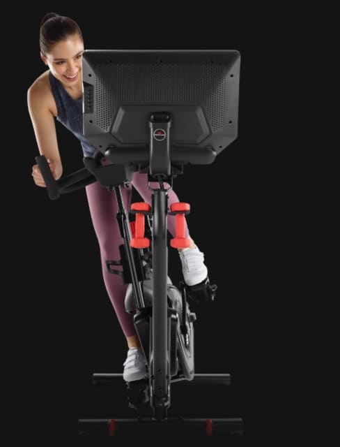 The Bowflex VeloCore offers a big difference, in that you can swing your body side to side. (Picture courtesy of Bowflex.)