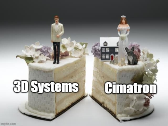 3D Systems Corporation, Rock Hill, South Carolina, USA, reports that it has agreed to sell Cimatron Ltd., and its related subsidiaries, which operate the Cimatron® integrated CAD/CAM software and GibbsCAM® CNC programming software businesses, to Battery Ventures, Boston, Massachusetts, a technology-focused investment firm, for a purchase price of $65 million. (Image courtesy of ImgFlip.)