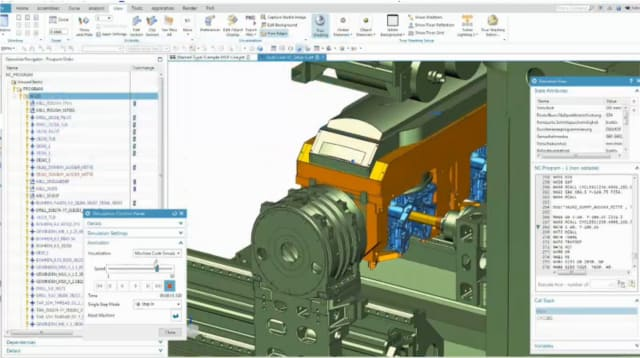 NX 12's Machining Line Planner. (Image courtesy of Siemens.)