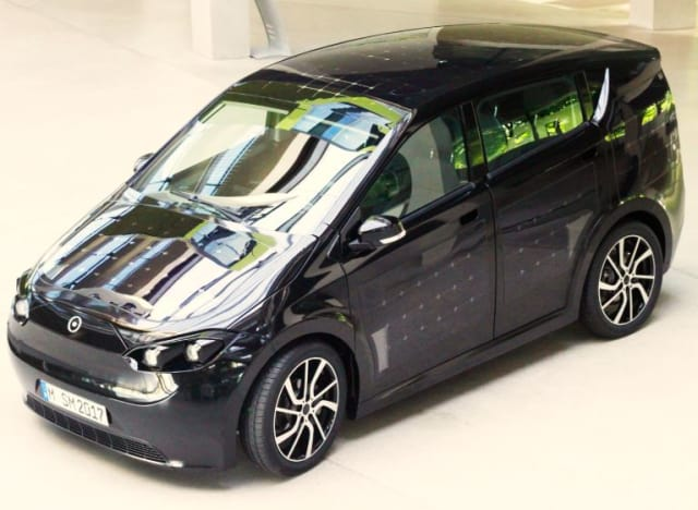 Sion: a Five-seat Solar-Assisted EV