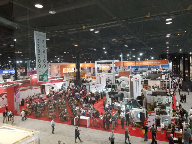 Despite record-breaking attendance, the latest IMTS saw plenty of apprehension over the shortage of skilled labor. (Image courtesy of the author.)