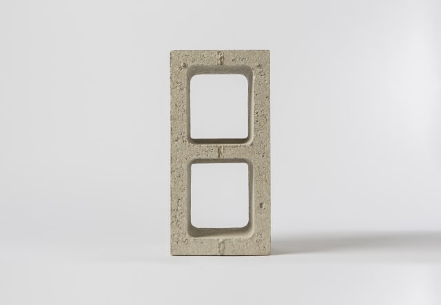 Solidia® Concrete CO2-cured block. (Courtesy image of Business Wire)