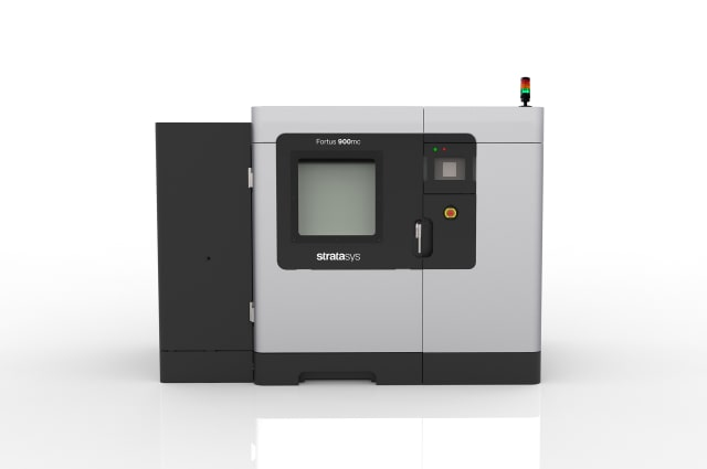 A new edition of the Fortus 900mc Production 3D Printer is featured in Stratasys' new Aircraft Interiors Certification Solution. (Image courtesy of Stratasys.)