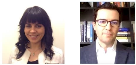 Sue Ozdemir and Josh Sobil. (Image courtesy of Exro Technologies.)