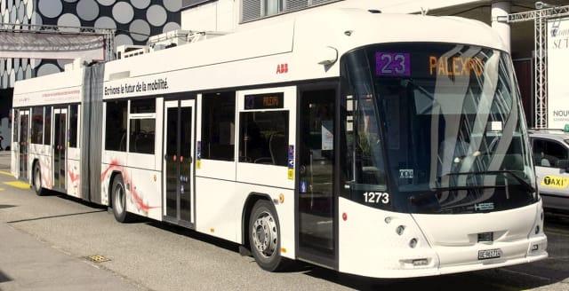 Figure 1. A TOSA e-bus. (Image courtesy of ABB.)