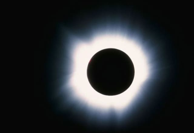 Totality! Image courtesy of NASA
