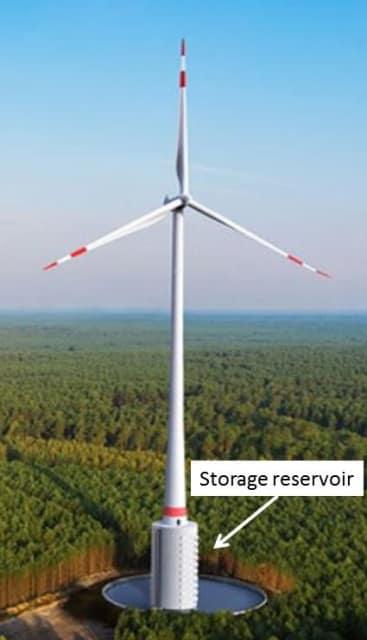 world 39 s tallest wind turbine includes innovative energy storage system. Black Bedroom Furniture Sets. Home Design Ideas