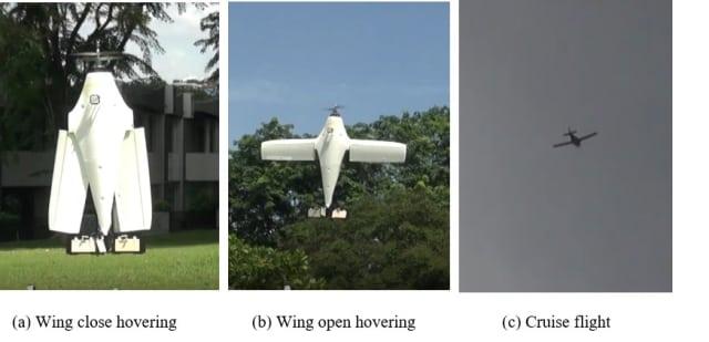U-Lion's three flying modes. (Image courtesy of Science China Press.)