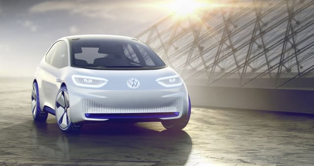 The I.D. (Image courtesy of Volkswagen.)