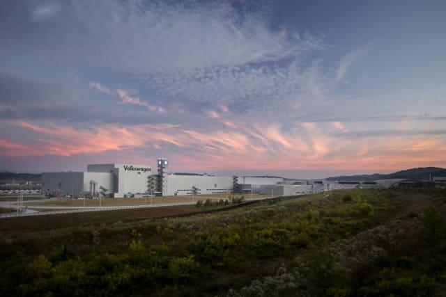 The Volkswagen Chattanooga plant. (Image courtesy of Volkswagen.)
