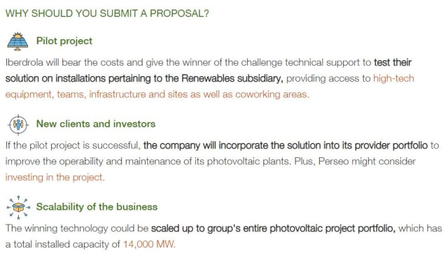 The design contest launched by Iberdrola. (Image courtesy of Iberdrola.)
