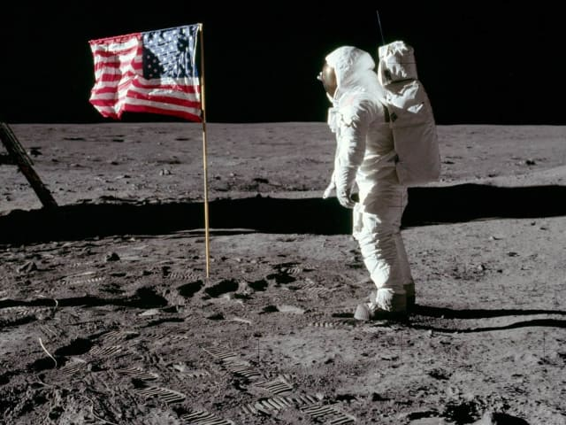 Apollo 11 captured the imagination of the world and put America's space program squarely ahead of the Soviet program during the Cold War. It was perhaps the greatest feat of human engineering of all time.(Apollo 11.)