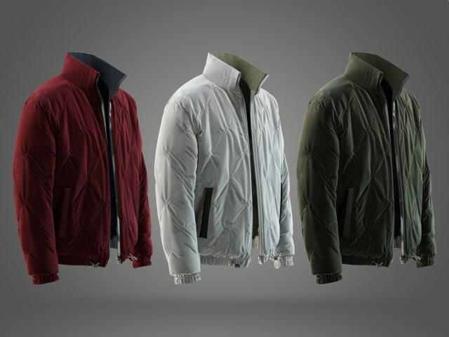 Jacket renderings. (Image courtesy of FNX Technologies.)
