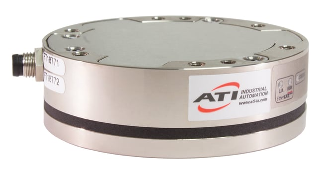 The Axia80 Force/Torque Sensor. (Image courtesy of ATI.)