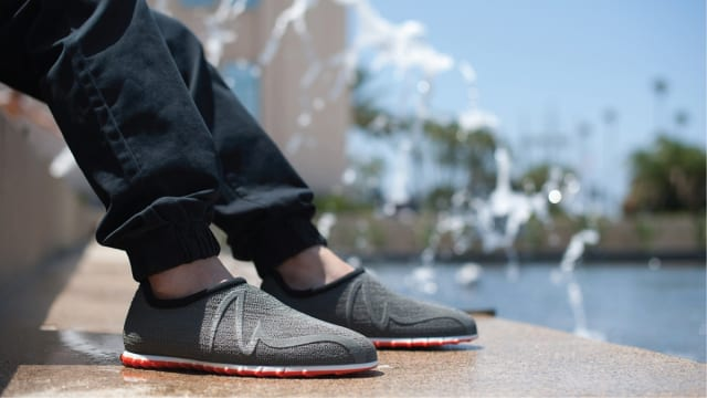 Feetz uses 3D printing to create everything from the midsole to the upper. (Image courtesy of Feetz.)