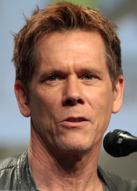 Hang in there, Kevin Bacon! (Image courtesy of Wikimedia Commons.)