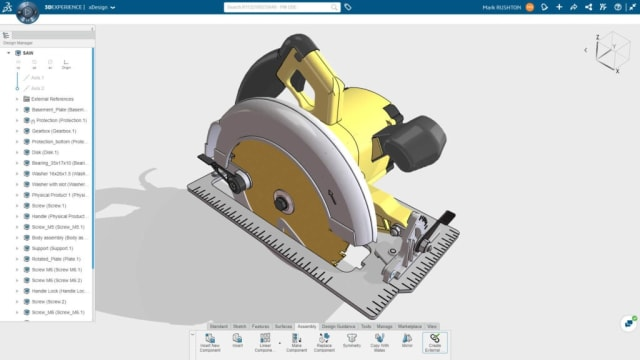 CAD in a cloud-based browser solution. With its 3DEXPERIENCE Works portfolio, Bassi believes that Dassault has developed a solution that is both tailored to the needs of SOLIDWORKS customers and small and medium-sized companies everywhere and future-proofed for these customers who need advanced IT support.