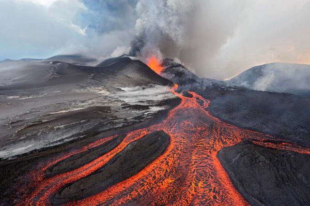 Volcano on Russian Kamchatka. (Photo credit: Sergey Gorshkov/Minden Pictures/Corbis.)