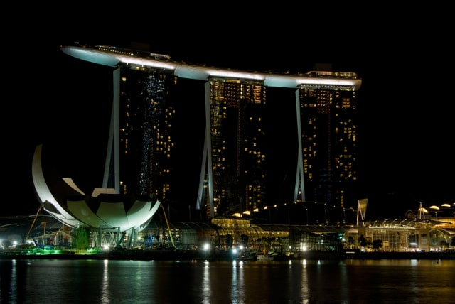 "Stealing the show. Bentley Systems held its annual Year in Infrastructure in 2017 at the Marina Bay Sands resort, which includes the hotel, the second most expensive building in the world and arguably the most distinctive. Its ""sky park,"" 57 stories above street level juts 65 meters off the front, makes it the biggest cantilevered public structure, according to Arup, the firm that analyzed it."