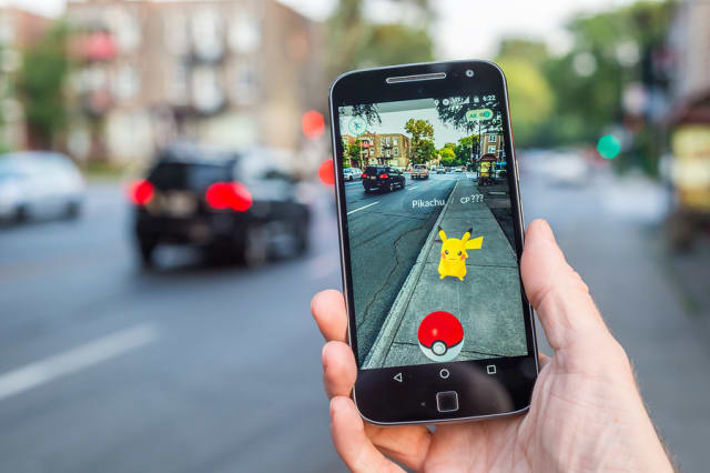 Pokémon GO uses augmented reality to bring video game characters into the real world.