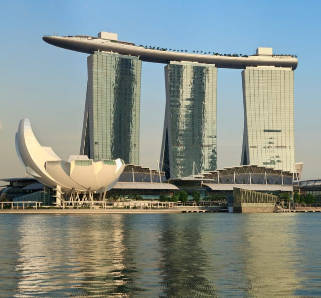 The Marina Bay Sands hotel, home for Bentley's Year in Infrastructure 2017, may be the most distinctive hotel in the world.