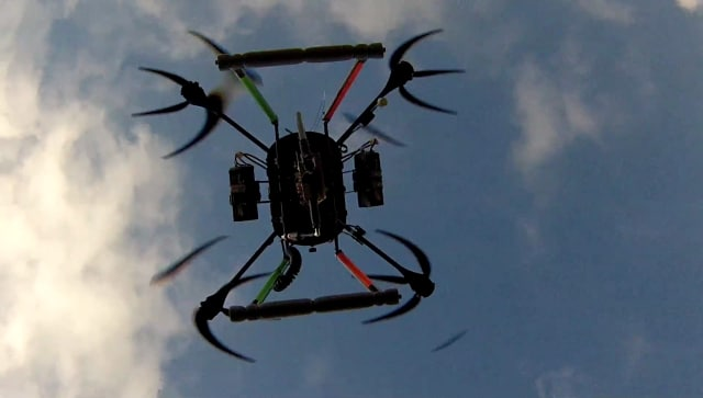 Example of a drone for tree planting. (Image courtesy of BioCarbon.)