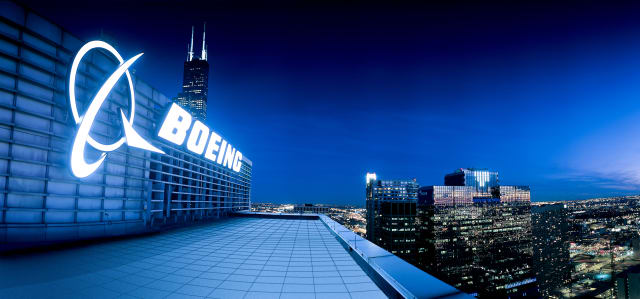 Boeing Corporate Offices in Chicago. (Image courtesy of Boeing.)