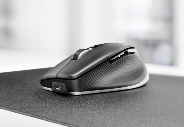 The CadMouse Pro Wireless. (Image courtesy of 3Dconnexion.)