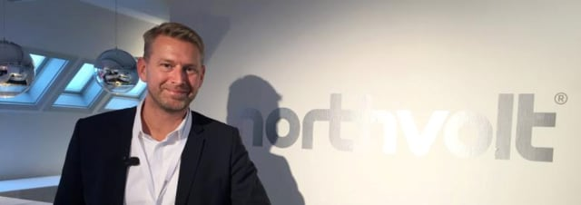 INTENSE INVESTMENT. Peter Carlsson, the Northvolt founder and CEO, told us from the stage about this gigantic project, which is Sweden's single largest industrial project ever. In terms of money, we're talking about a $4.5 billion venture.