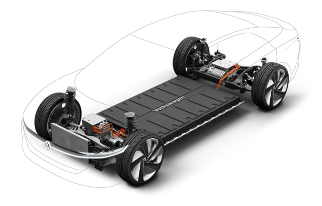 """VOLKSWAGEN'S MEB PLATFORM. German car manufacturer Volkswagen's bet on electrical vehicles is not news. The business plan """"Together - Strategy 2025"""" included 30 new electric-powered car models until 2025. Central to the electric car investment is the new platform MEB, which is tailor-made for electric power. MEB is a platform that has been talked about in presentations of concepts like I.D. Concept, I.D. Buzz, I.D. Crozz and I.D. Vizzion. These VW plans clarify and explain the need for a productive battery factory capacity. Northvolt is a key partner in this, along with the plant that VW will build together with Peter Carlsson's company in Germany (Northvolt Zwei)."""