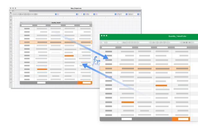 Worksheets. (Image courtesy of Vectorworks.)