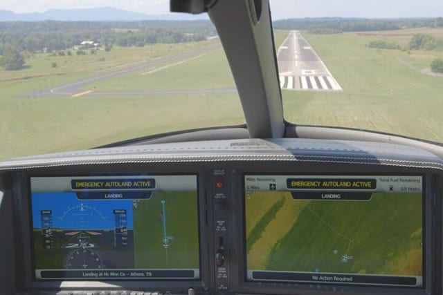 Piper M600 first of many aircraft to offer FAA-certified Garmin autonomous flight technology. (Image courtesy of Garmin.)