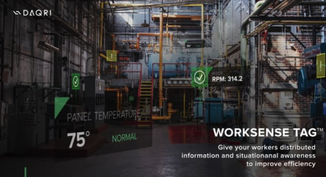 And the ability to 3D scan work environments and view BIM models in-situ is promising. For example, since DAQRI's current customers are all still privy to receive a trial of DAQRI Worksense Pro (no word on the promised Worksense Standard yet), decision-makers will be able to discern what is working and what is not, making adjustments along the way. (Image courtesy of DAQRI.)