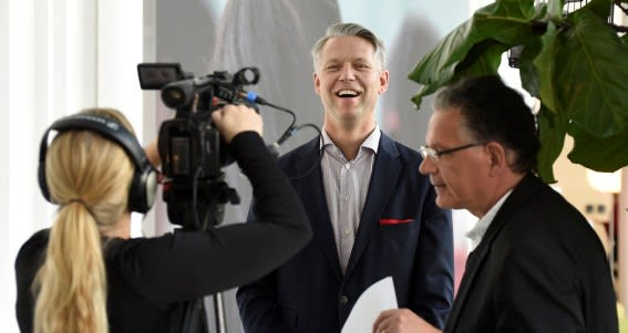 Ericsson's then-CIO (2016), Johan Torstensson, during a web TV interview with PLM TV News and Verdi Ogewell. Torstensson was the driving force behind the PLM deal with Dassault Systèmes. The 2016 decision to bet on the French PLM developer's 3DEXPERIENCE platform was a large installation base with more than 25,000 users in the Swedish telecom giant's R&D organization. The first plan was to have it up and running in 15 months. Today, a more realistic five-year plan has been established.