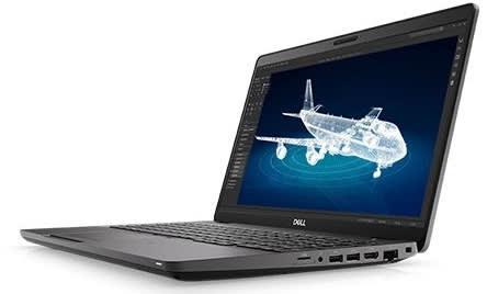 The Dell Precision 3541. (Image courtesy of Dell.)