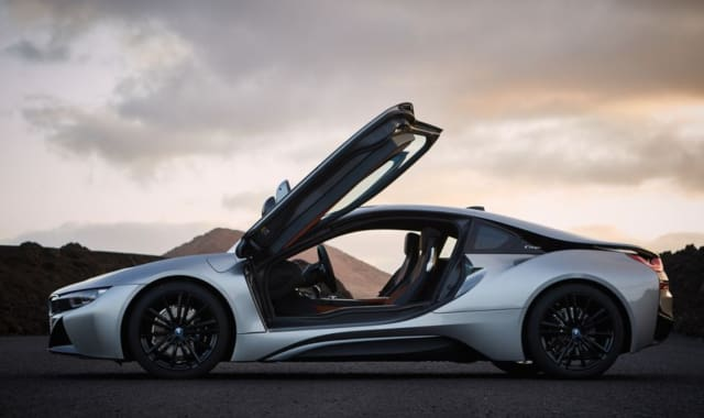The BMW i8 plug-in hybrid. (Image courtesy of BMW.)