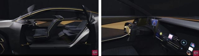 Interior of the Nissan IMs. (Images courtesy of Nissan.)