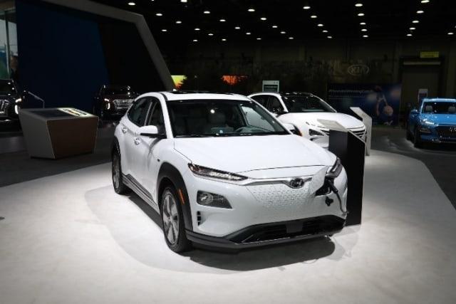 The Hyundai Kona EV. (Image courtesy of NAIAS.)