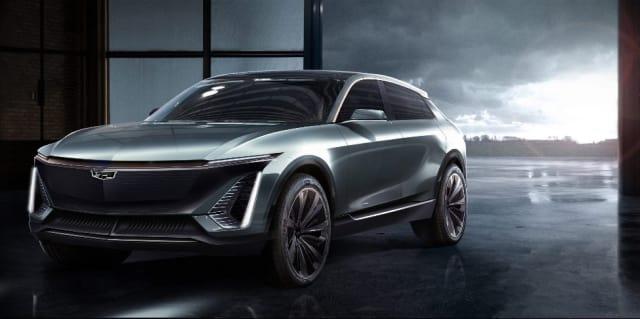 The Cadillac EV concept. (Image courtesy of GM.)