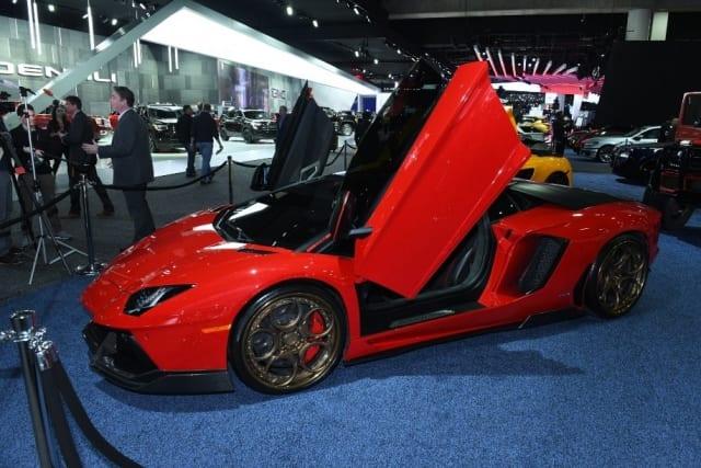 The Lamborghini Aventador. (Image courtesy of NAIAS.)