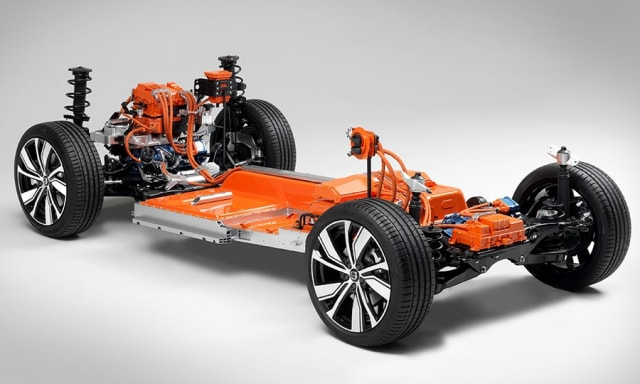 "The CEVT developed CMA platform is a sort of ""skeleton"" that Volvo Cars can ""dress up"" in any state-of-the-art ""garb."""