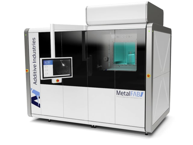 The new MetalFAB1 Process & Application Development Tool from Additive Industries. (Image courtesy of Fabbaloo.)