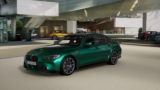 (Ruang pamer virtual BMW. Gambar milik BMW AG / Mackevision.)