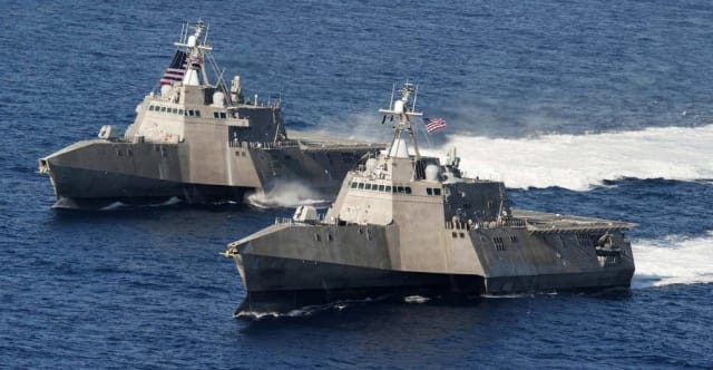 The U.S. Navy's Littoral Combat Ship. Not a Frigate, and not cutting it.